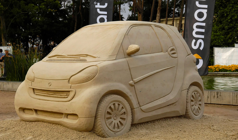 Jungle   Smart   Sand sculpture