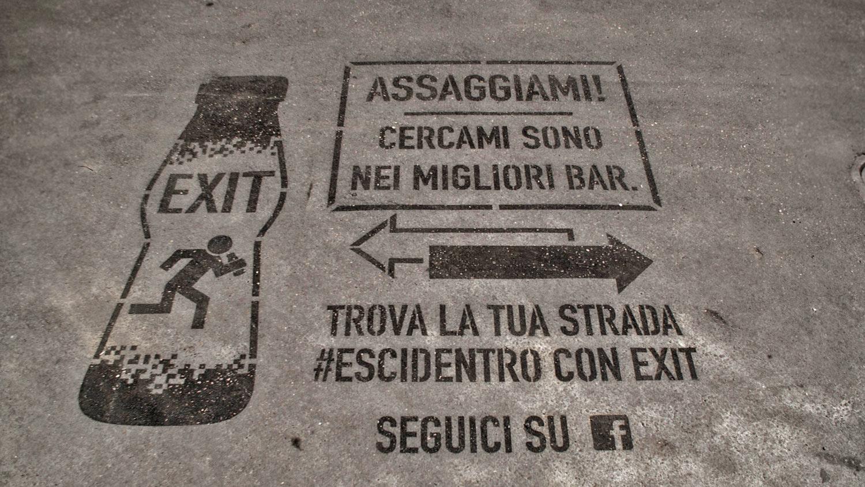 Jungle   Street advertising   Reverse graffiti   Parmalat