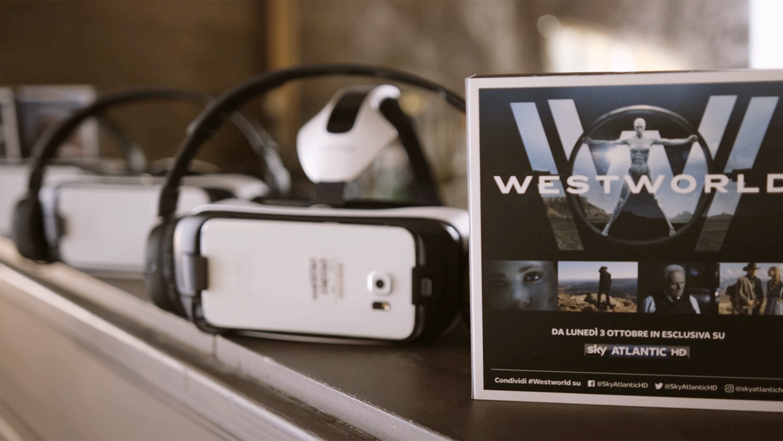 Westworld   Prank advertising Cross media teaser campaign