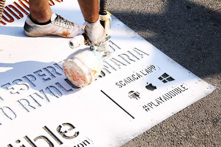 Streetadvertising Audible Milano