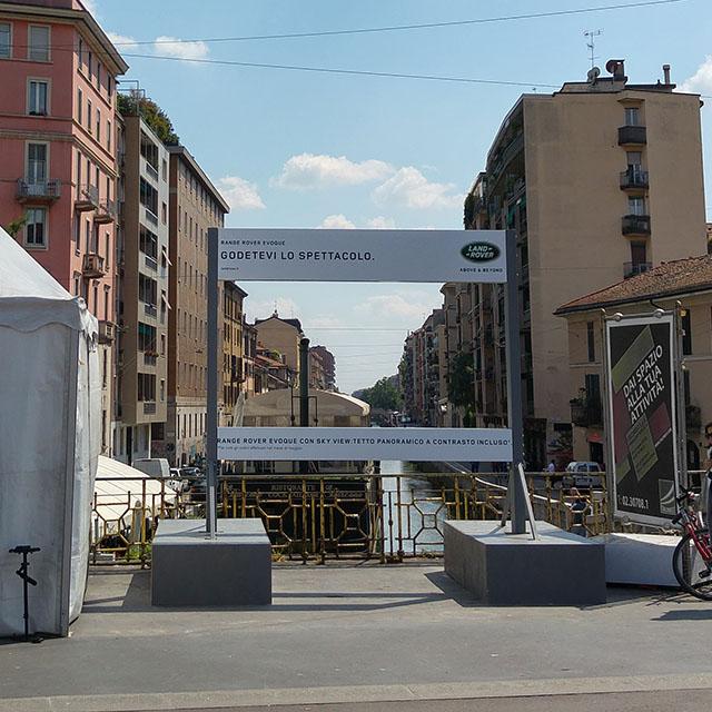 Installazione Land Rover Milano 02