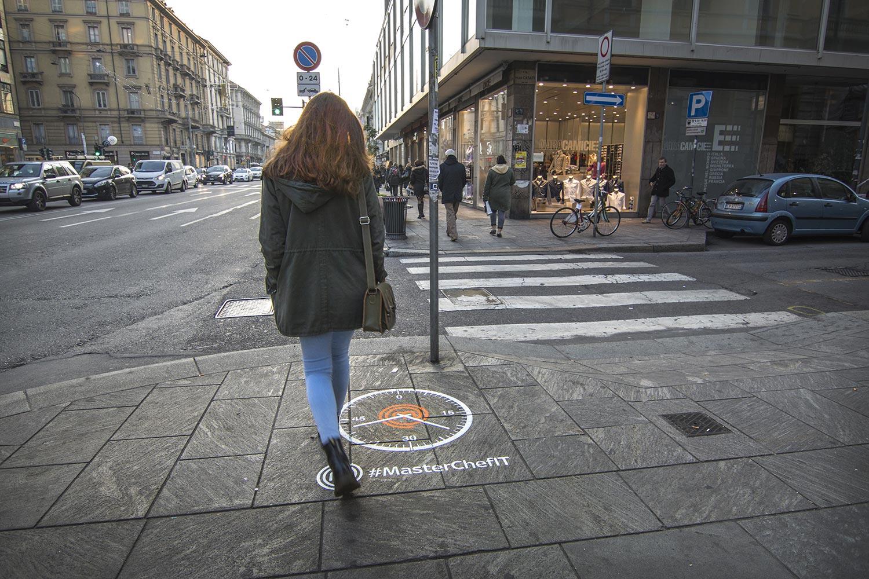 Guerrilla campaign Masterchef Milano