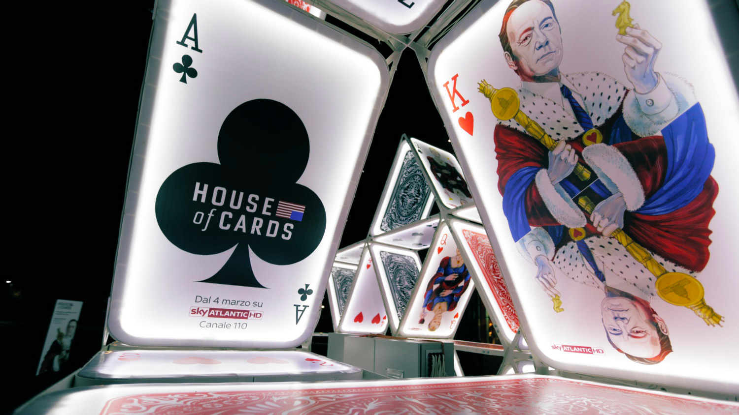 Jungle Installazione House of Cards
