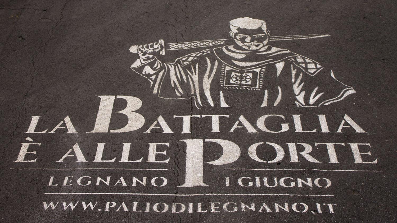 Prank advertising PaliodiLegnano Milano