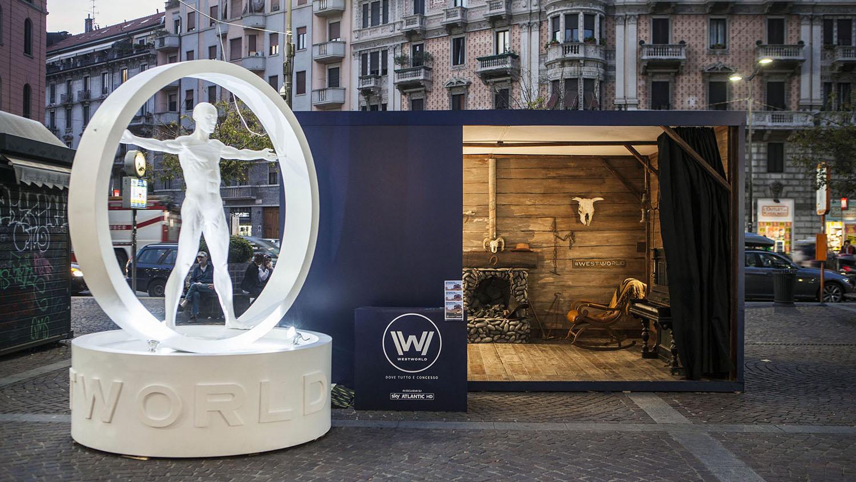 Westworld   Evento Piazza Argentina (MI)