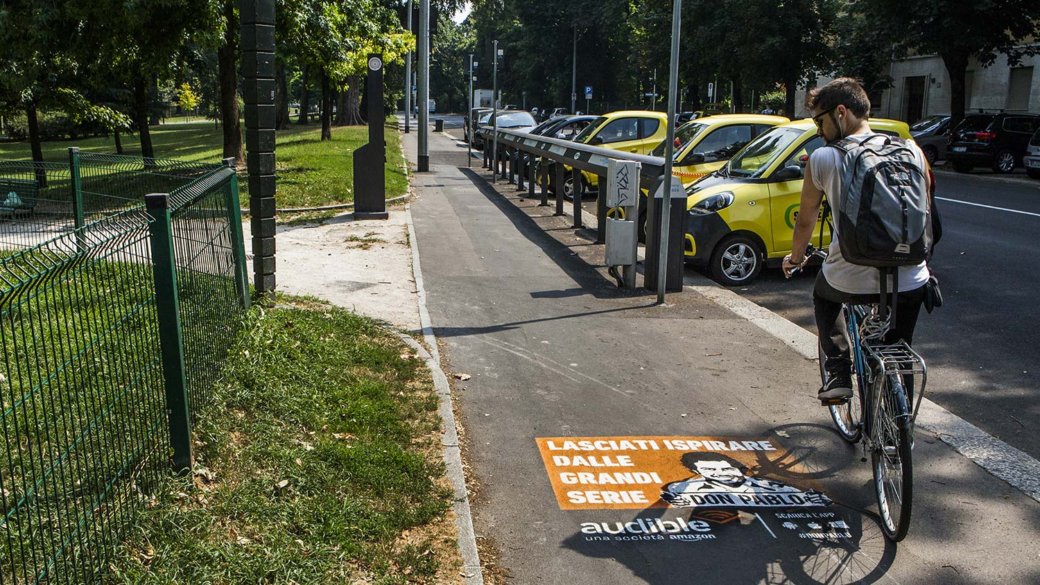Streetadvertising Audible Milano